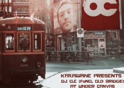 Under Canvas with guest DJ OC (FoNo, Old Bridge) 2 August